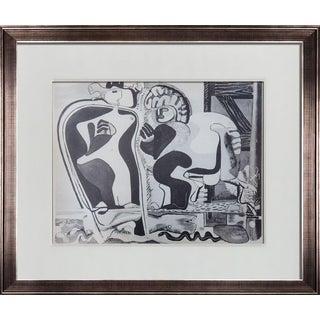 """Le Corbusier Lithograph """"Femmes Et Cheval"""" For Sale"""