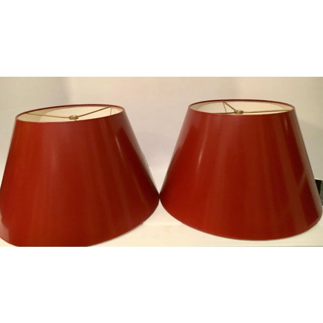 Vintage Signed Van Teal Acrylic Mid-Century Lamps - a Pair For Sale - Image 11 of 13
