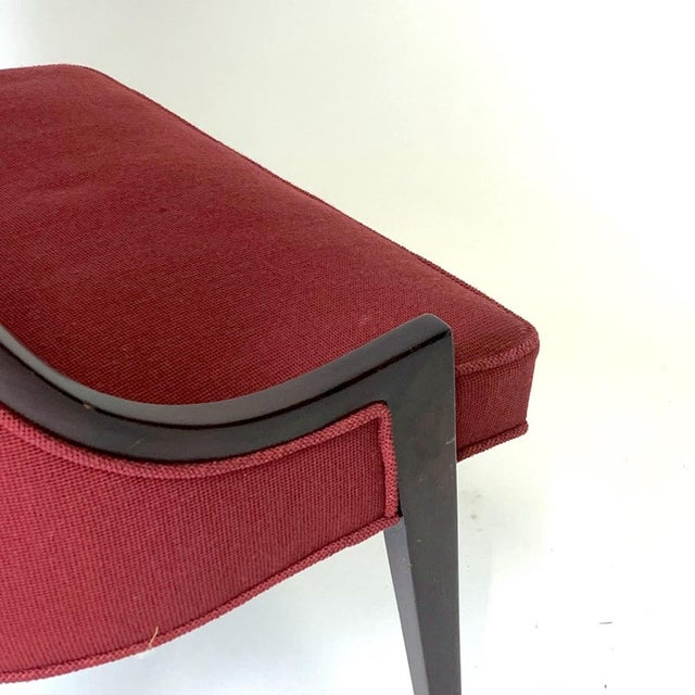 Mid-Century Modern Harvey Probber Model 1053 Sculptural Gondola Slipper or Side Chairs - a Pair For Sale - Image 3 of 13