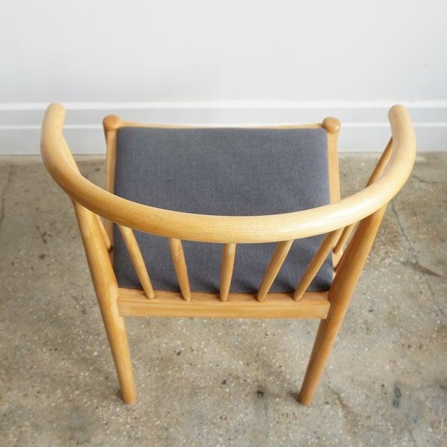 Pleasant Danish Beech Arm Chair Design Finn Ostergaard Lindebjerg Unemploymentrelief Wooden Chair Designs For Living Room Unemploymentrelieforg