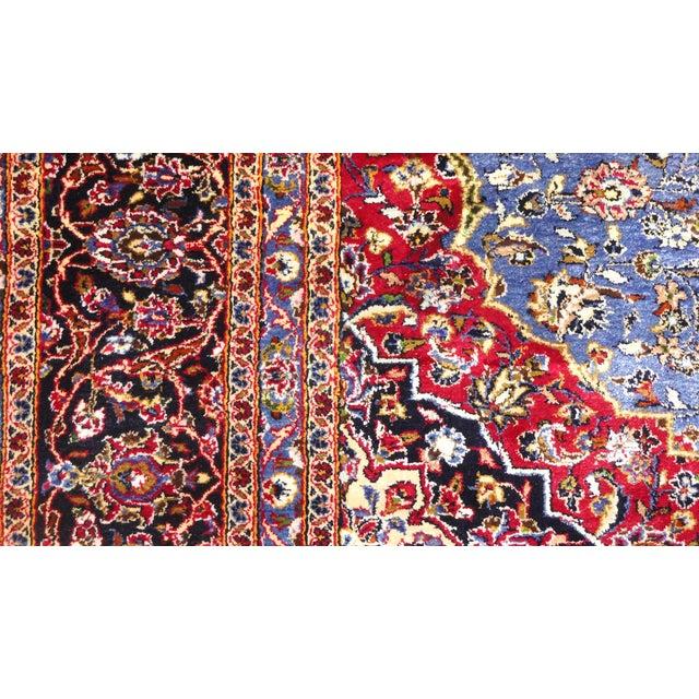 "Persian Silk Kashan Rug - 5' x 7'7"" - Image 6 of 7"