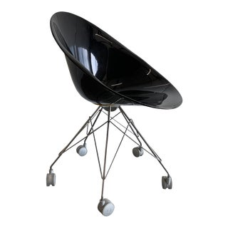 Modern Philippe Starck Ero Polycarbonate Black Chair For Sale
