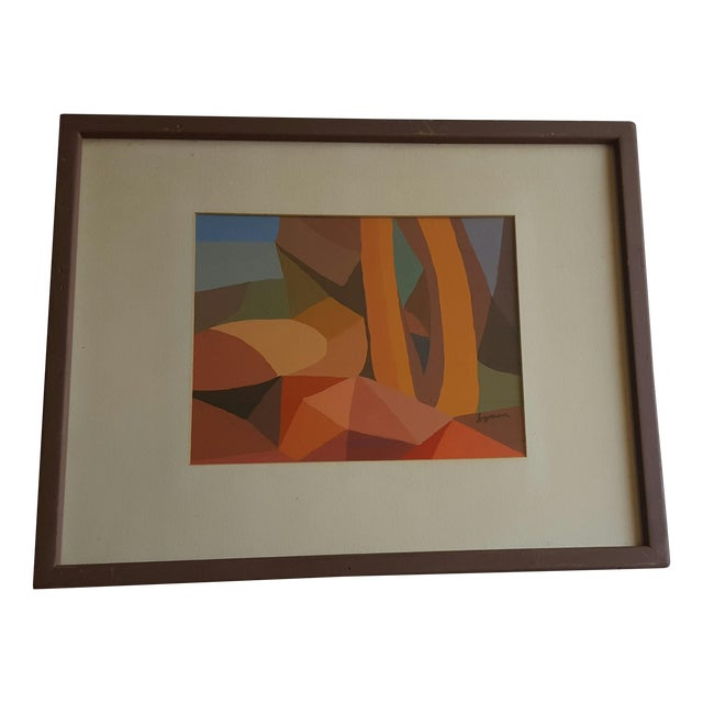 Lyman Abstract Painting - Image 1 of 3