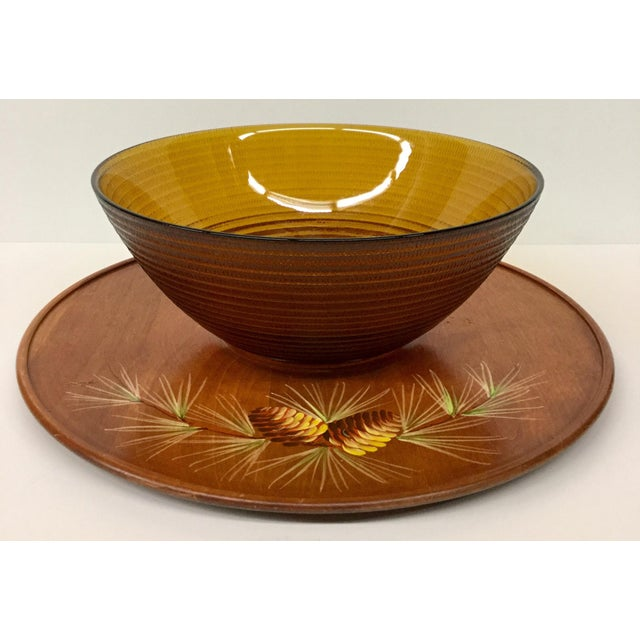 Mid Century Modern Soup or Dip Serving Set For Sale - Image 9 of 9