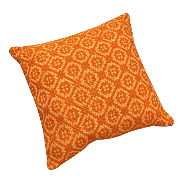Orange Italian Artisan Pillow - Image 1 of 3