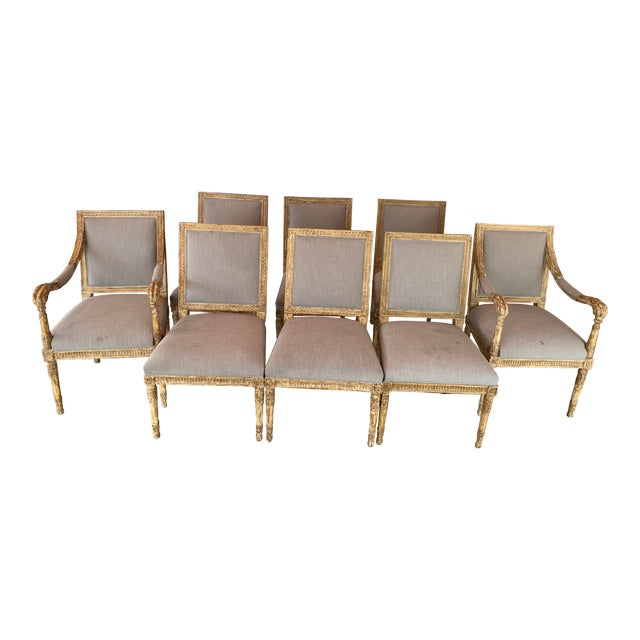 Nancy Corzine Chairs - Set of 8 For Sale