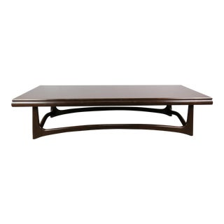 Mid-Century Modern Coffee Table in the Style of Adrian Pearsall For Sale