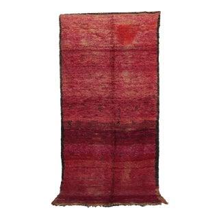 """Beni M'Guild Vintage Moroccan Rug, 5'8"""" X 11'7"""" For Sale"""