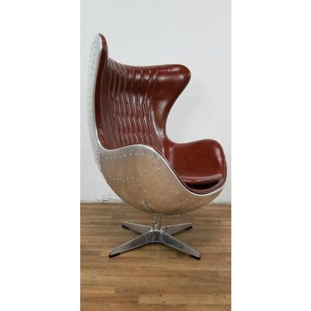 Miraculous Restoration Hardware Aviator Egg Chair Short Links Chair Design For Home Short Linksinfo