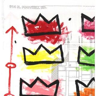 """Pop Art """"Rainbow Royalty"""" Original Artwork by Famous Street Artist Gary John Preview"""