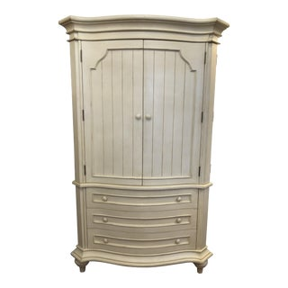 Shabby Chic Armoire Wardrobe For Sale