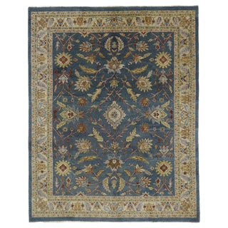 20th Century Persian Style Rug With Traditional Mahal Design - 8′ × 10′1″ For Sale
