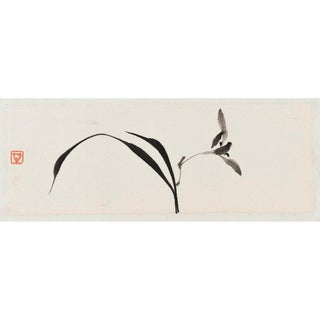 "Ayan Rivera ""Look at Me"" Sumi Ink Original Painting For Sale"