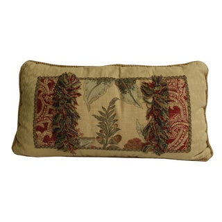 Cream Red MIX Color Rectangular Bohemian Couch Sofa Cushion For Sale