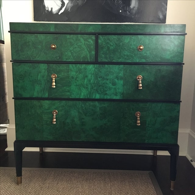Century Furniture Malachite Consul Chest - Image 3 of 8
