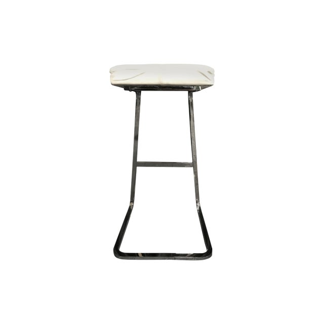 Mies Van Der Rohe: Four Seasons Stool - A Pair - Image 6 of 7