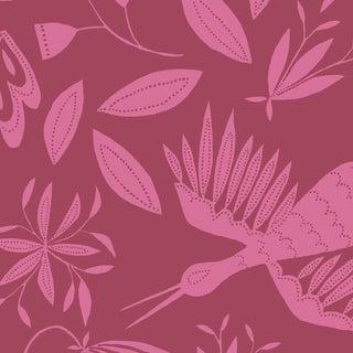Julia Kipling Otomi Grand Wallpaper, 3 Yards, in Laurel For Sale
