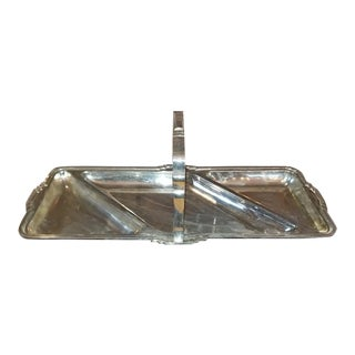 Art Deco Silver Bon Bon Dish For Sale
