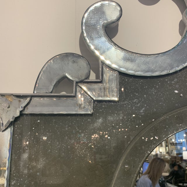 Antique Venetian Wall Mirror For Sale - Image 10 of 13