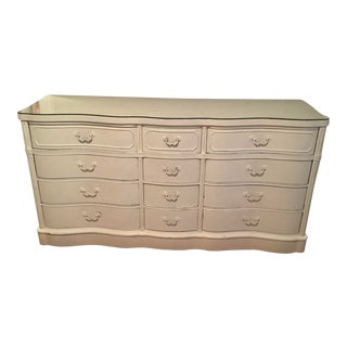 1950s Shabby Chic Buffet Turned Dresser For Sale