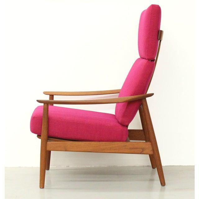 France & Son Danish Teak Lounge Chair Arne Vodder France & Son For Sale - Image 4 of 11
