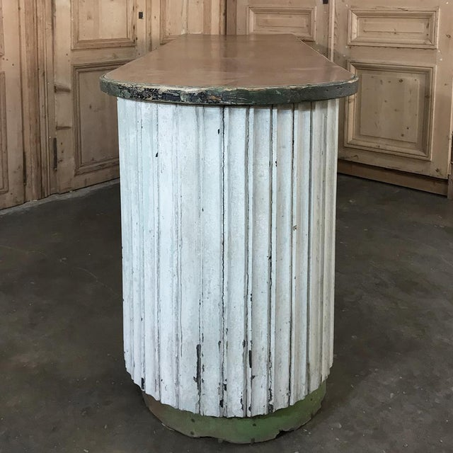 Mid-Century Painted Store Counter For Sale - Image 10 of 13