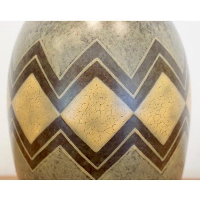 Charles Catteau for Boch Freres 1920s Boch Freres Vase For Sale - Image 4 of 8