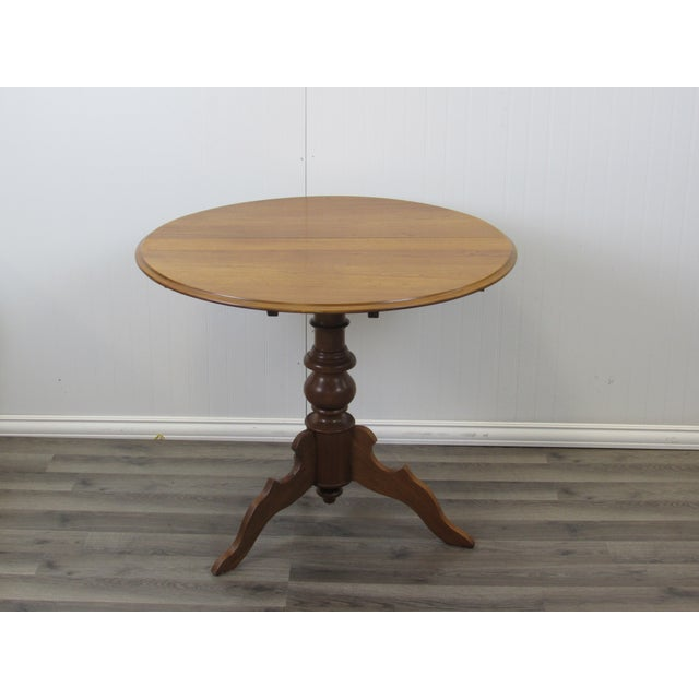 Multi functional round table is portable AND pretty! Great for parties for gifts, appetizers, cakes, or to play cards....