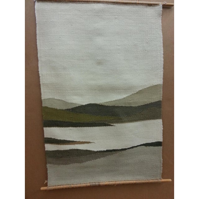 Woven Mountain Landscape Wool - Image 4 of 7