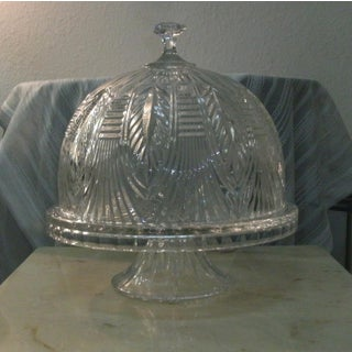 Shannon Crystal Convertible Cake Stand Punch Bowl Preview