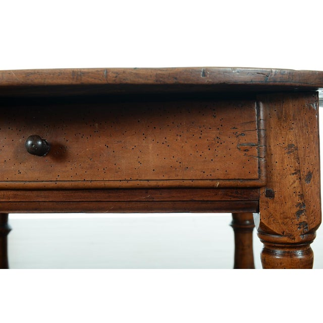 18th Century Fruitwood Oval Center Table - Image 6 of 10