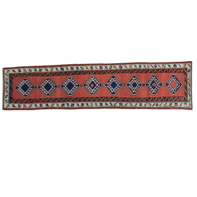 "Vintage Sarab Rug Runner - 2'3"" X 9'4"" For Sale"
