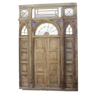 Impressive 1800's Indo Portuguese Door For Sale