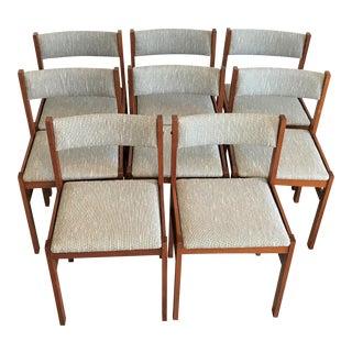 Mid Century Jensen Møbler Dining Chairs After Niels Møller – Set of 8