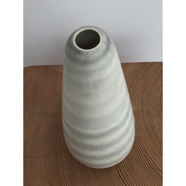 1960s 1960s Vintage Modernist Ceramic Vase For Sale - Image 5 of 10