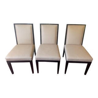 A. Rudin No. 445 for Holly Hunt Side Chairs - Set of 3 For Sale