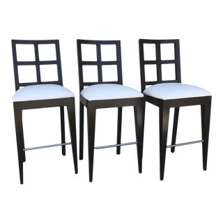 Berman-Rosetti Bar Stools- Set of 3 For Sale