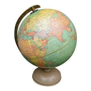 Vintage Cram's Universal Terrestrial Globe For Sale