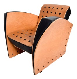 Image of Vinyl Club Chairs