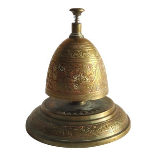 Vintage Brass Counter Bell