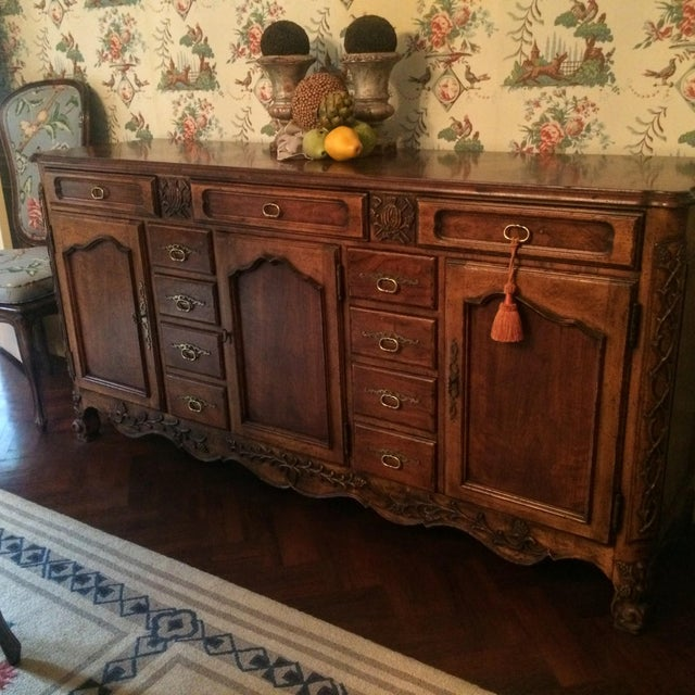 Mount Airy Furniture Co. French Provincial Sideboard Buffet For Sale In New York - Image 6 of 11