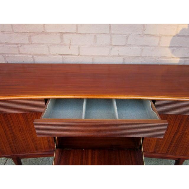 Vintage Danish Modern Rosewood Credenza For Sale - Image 9 of 13