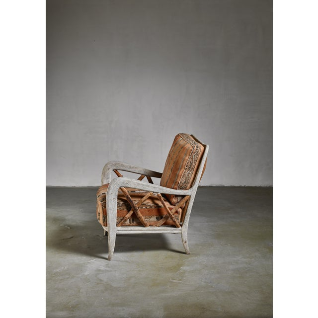 Guglielmo Ulrich Chair, Italy, 1940s For Sale - Image 6 of 7