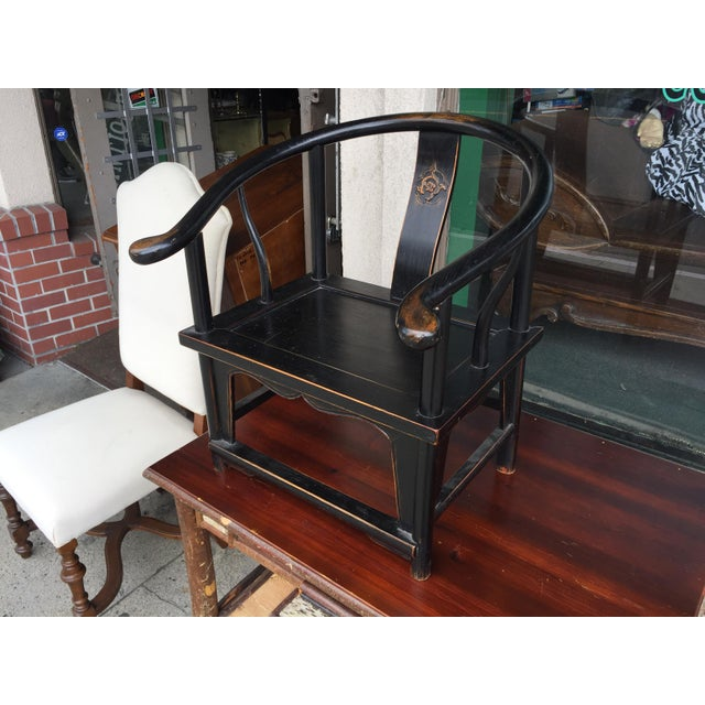 Chinese Horshoe Child's Chair - Image 2 of 6