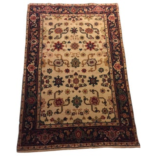 Fine Handknotted Rug - 4 X 6