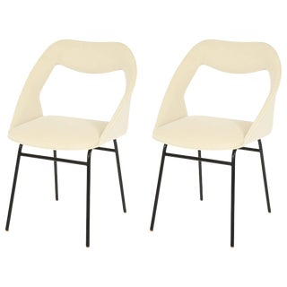 Pair of Louis Paolozzi Side Chairs For Sale