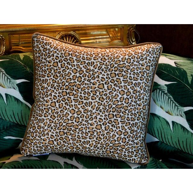 Modern Cheetah Print Pillow For Sale - Image 4 of 6
