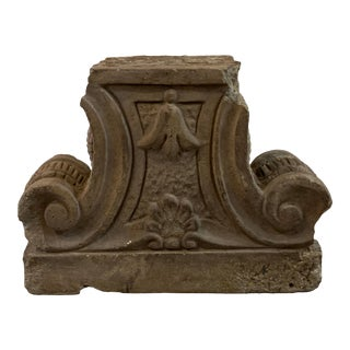 1930s Architectural Capital Fragment For Sale