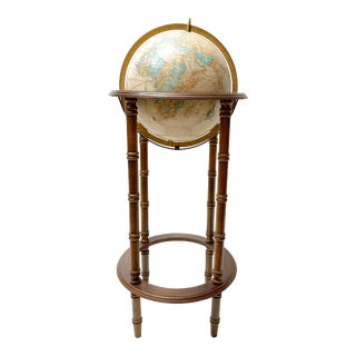 Mid-Century Cram's Imperial World Globe For Sale