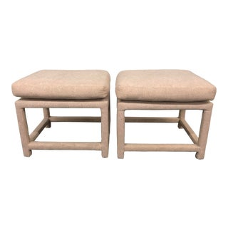 Milo Baughman Parsons Benches-a Pair For Sale